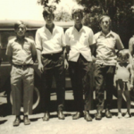 Filhos de Olívio Silvestre Dametto e Ida Domingas Zanatta: Dorival, Lírio. Alceu, Artemio, Dorval, Helena.