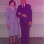 Orélia Dametto e Gregório de Biasi. Casaram-se em 06/07/1978, Linha Quarta, Anta Gorda - RS.