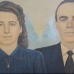 Orlando Baseggio e Maria Fontana. Orlando era o quinto filho de Cecília e Ricardo Baseggio e foi assassinado aos 34 anos, em 21/07/1958.