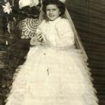 Maria Regina Dametto (*03/08/1958) - primeira Eucaristia.