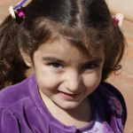 Manuela, filha de Regina Dametto e neta de Odacir Antônio Dametto.