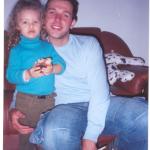 Roberto Roling e Jennifer de Oliveira Roling, filho e neta de Maria Terezinha Dametto. Foz do Iguaçu - Pr.