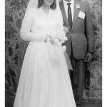 Rosa Dametto e Euclides Mayer, casamento no dia 01/02/1961.