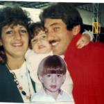 Família Rui Luís Dametto, Sandra Maria Zanon, Natacha e Lucas Zanon Dametto.