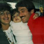 Família Rui Luís Dametto, Sandra Maria Zanon e Natacha Zanon Dametto.