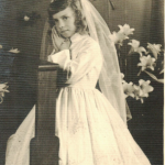 Sonia Maria Zaro – Primeira comunhão no dia 01/11/1958.