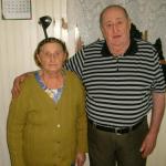 Maria Hermínia Teló e Severino Dametto - 60 anos de casamento.