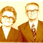 Thereza Dametto e João Chies Primo, 50 anos de casamento.