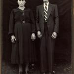 Victoria Zanatta (*19/06/1891 †26/06/1973) e Valentim Dametto (*20/01/1892 †10/05/1962).