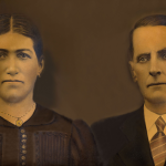 Victoria Zanatta (chamada Italia) e Valentim Dametto.