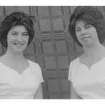 Verônica e Josefina Dametto, filhas de Angelo Francisco Dametto e Orélia Luiza Ferrari Dametto.
