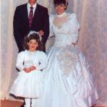 Casamento de Wilson Dametto e Eliane Bedendo no dia 31/07/1993.