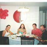 Elisa Moser, Raquel e Diego Dall'Agnol, Antonio Francisco Moser.