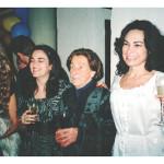 Família de Franco Mazaro (neto de Fermina Zanatta): Ana Luiza (esposa de Franco), Rossana, Fermina, Rosane e Franco Mazaro.