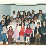 Família Fermina Zanatta e Artemio Domenico Mazaro. Comemoração de 50 anos de casados.