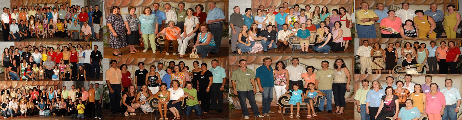 Famílias descendentes de José e Maria Simon Dametto - Encontro da família em 9 de fevereiro de 2007