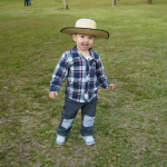 Augusto Sbeghen Dametto (*15/12/2009), filho de Sidiane Sbeghen e Jairo Gustavo Dametto.