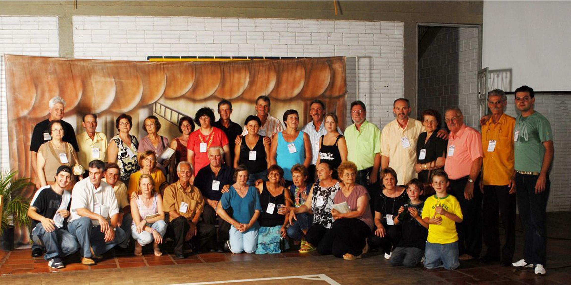 Famílias Dametto de Tapejara (RS).