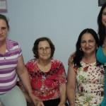Susana Maria, Ilse Maria Dametto Martins, Silvana Iara e Adriana Beatriz Martins.