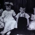Justina, Mônica, Paulo e Miriam Dametto, filhas e filho de Severino Inocente Dametto e Maria Hermínia Teló Dametto.
