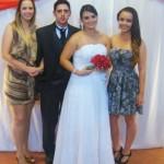 Lucas do Amarante Dametto e Lauren Daré, com Denise Rigon e Laís Leon. Casamento no dia 17/01/2009.