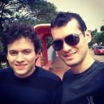 Luciano e Marcos Dametto, em Tapejara – RS.