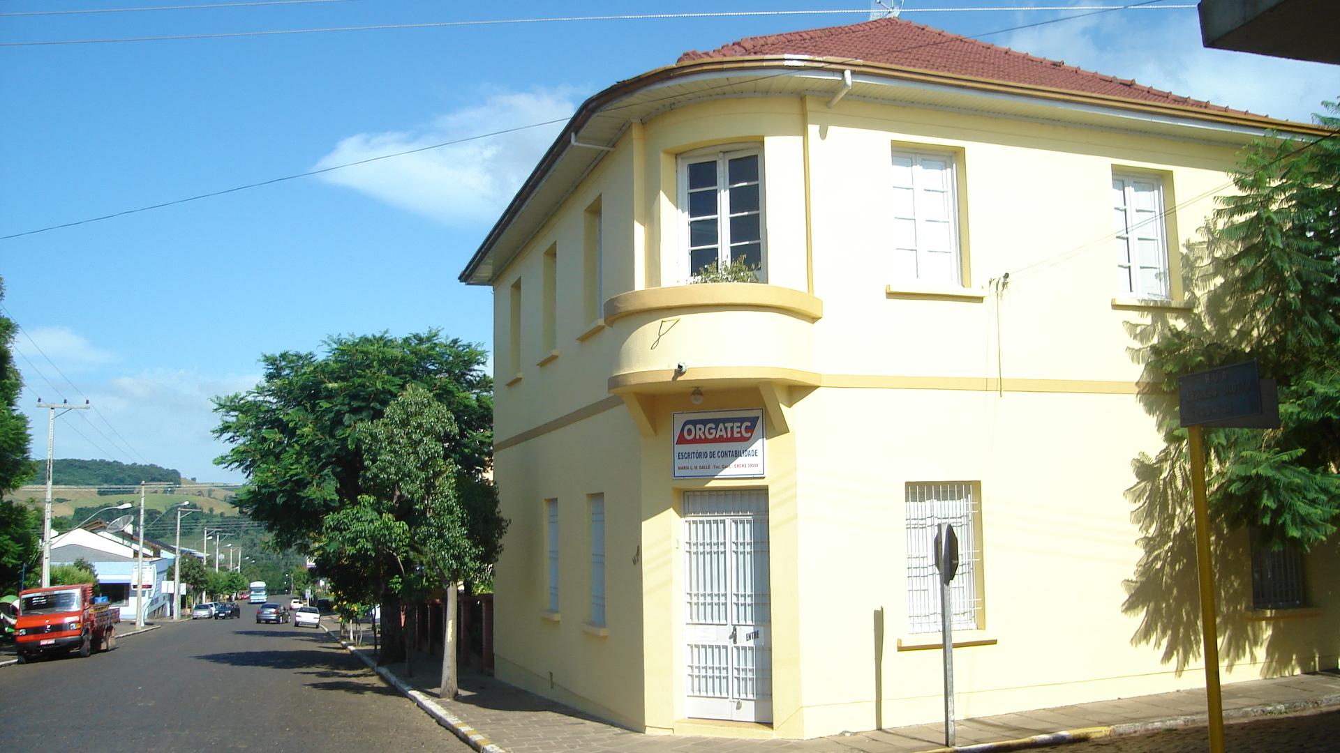 Casa de João Simon Sobrinho, irmão de Maria Simon Dametto.