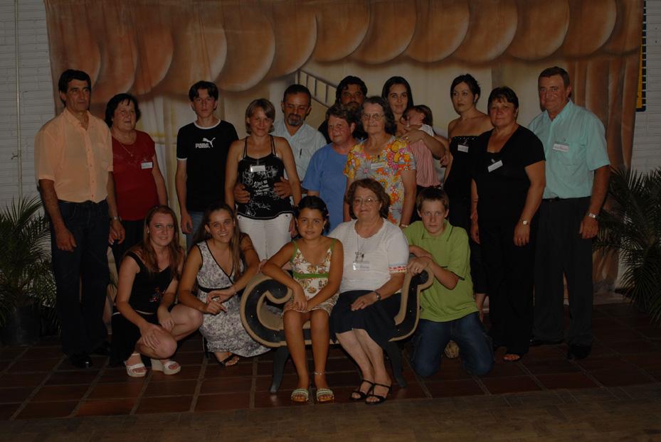 Família Francisco Dametto. Primeiro Encontro da Família Dametto, dia 09/02/2007.
