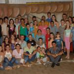 Família João Dametto (filhas, filhos, netas e netos). Primeiro Encontro da Família Dametto no dia 09/02/2007.