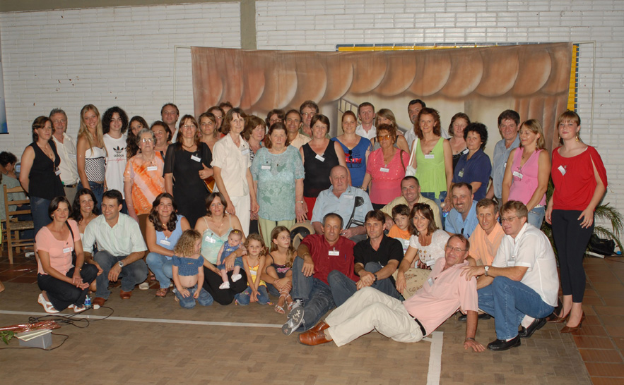 Família Roberto Dametto. Primeiro Encontro da Família Dametto, dia 09/02/2007.