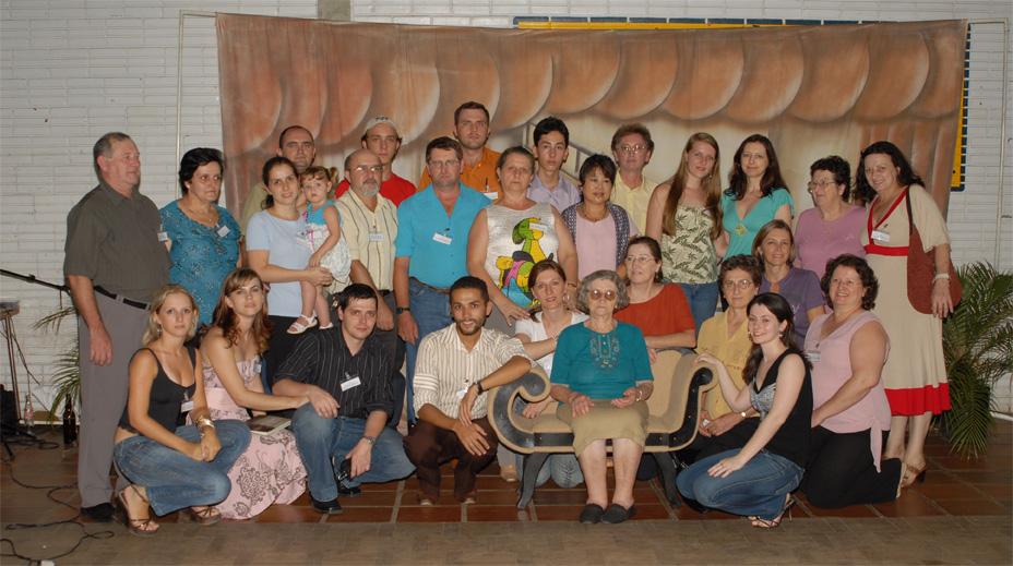 Família Victor Dametto. Primeiro Encontro da Família Dametto, dia 09/02/2007.
