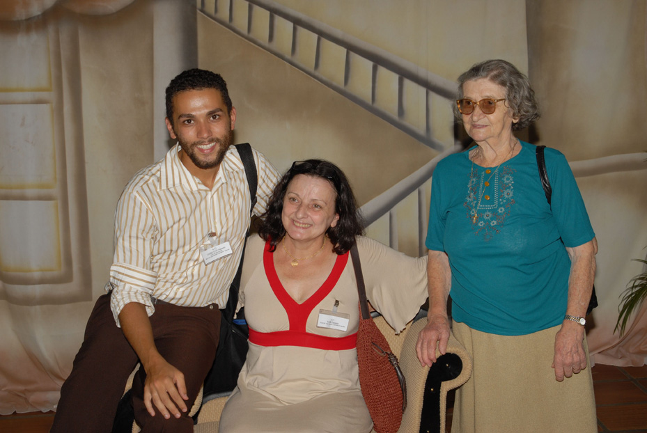 André Luiz Dametto, Nair Dametto e Carmelinda Parisotto.