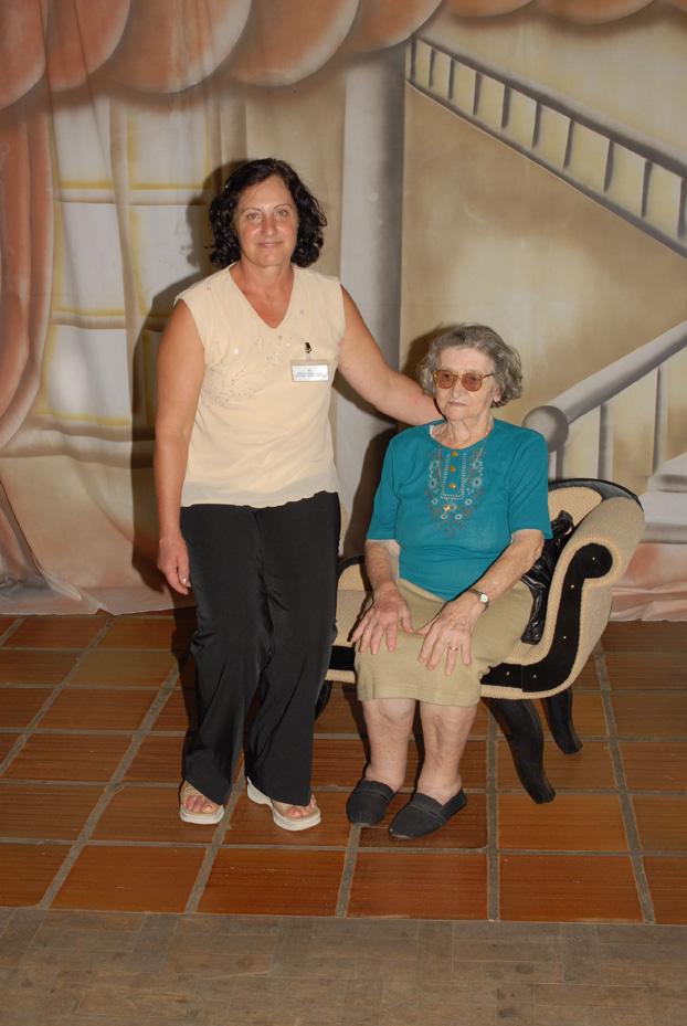 Inês Lourdes Dametto e Carmelinda Parisotto Dametto.