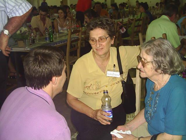 José Mário Dametto, Amélia Dametto e Carmelinda Parisotto Dametto.