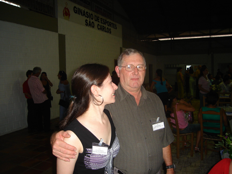 Juniele Dametto e seu pai, Danilo Dametto.