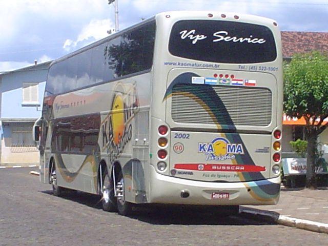 Saída do ônibus na Praça de Anta Gorda, RS.