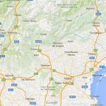 Região de Vêneto / Google maps
