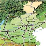 Principais cidades do Vêneto.
