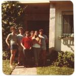 Família de Adelino Dametto, c. 1977.
