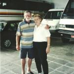 Adelino Dametto e Cristina Riedi.