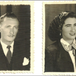 Adelino Dametto (*21/02/1926) e Maria Santina Bertotto (*13/05/1932), namorados.