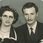 Maria Santina Bertotto (*13/05/1932) e Adelino Dametto (*21/02/1926).