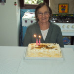 Amélia Teló Dametto - 85 anos no dia 01/05/2012.