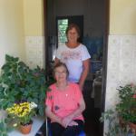 Amélia Regina Teló Dametto e sua filha Olga Terezinha - 15/10/2015.