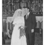 Ana Maria Stello e Honorino Antônio Dametto, casamento no dia 05/01/1962.
