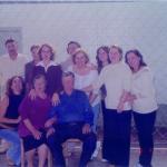 80 anos de Antonio Dametto – 05/11/2002. Filho e filhas.
