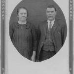 José Dametto e Maria Simon Dametto em 1932 – 25 anos de casamento.