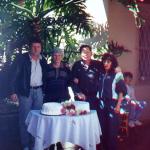 Corona e Danilo Dametto - 50 anos de casamento - com o filho Claudio Luiz e a nora Marlene do Amarante Dametto.