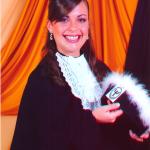 Adriana Dametto. Formatura em Ciências Contábeis.
