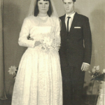 Darci Dametto (*11/03/1945) e Nadir Dalmina Dametto (*21/04/1947). Casamento em 20/07/1968.